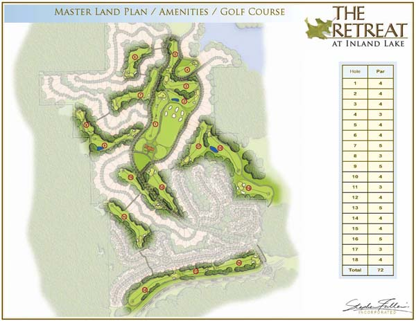 Amenities with Golf Course and Clubhouse